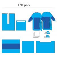 Wholesale Sterile ENT Set Health Care Customized, Non - Woven Disposable Surgical Packs from china suppliers