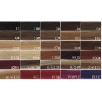 Wholesale 100 Real Human Hair Extension Color Chart , Weave Hair Color Chart from china suppliers