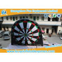 Quality Single Side Commercial Inflatable Dart Board / Dart Games With Plato PVC Tarpaulin for sale