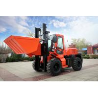 Wholesale Durable FD35W 3.5t all terrain diesel forklift high quality with solid tyre with low maintence use for moving and lift from china suppliers