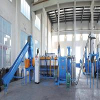 Wholesale 75 - 355KW Power Waste Plastic Washing Recycling Machine 100 - 1000kg/H Output from china suppliers