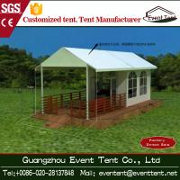 Wholesale Trade Show / Wedding Part 6mx6m Luxury Camping Tent With Clear Glass Walls from china suppliers