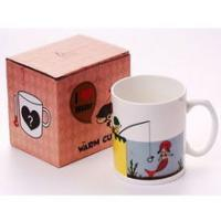 Quality the change colors mug printing magic fishing cup for sale