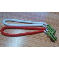 Wholesale 430mm length high quality China facotry price white red coiled lanyard leash dental clips from china suppliers