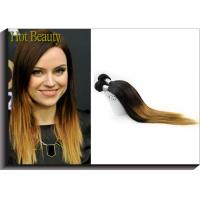 Wholesale Silky Straight Ombre Remy Human Hair Extensions With Model Show Wedding Party Meeting from china suppliers