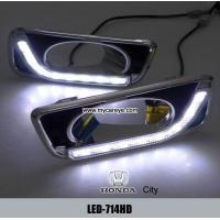 Wholesale HONDA City DRL LED Daytime Running Light turn light steering retrofit from china suppliers