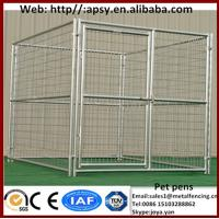 Wholesale Animal centers used fences pet clinics breeding cages personal high eco friendly foldable fence panels dog kennels from china suppliers