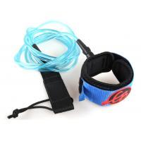 Wholesale Comfortable Surf Board Leashes PU cord, UV resistance thread, S.S swivel and screw from china suppliers