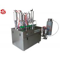 Wholesale Aerosol Spray Filling Machine , Automatic Spray Painting Machine Suppliers from china suppliers