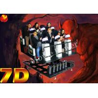 Wholesale High Tech Virtual Reality 9D Action Cinemas For 6 DOF Servo Dynamic Platform from china suppliers