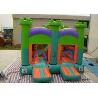 Wholesale Oxford Fabric Inflatable Commercial Bounce Houses With Slide For Kids from china suppliers