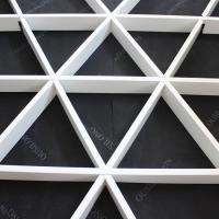 Wholesale Roller Coating Indoor Aluminum Triangle Grid Metal Ceiling Panel For Shopping Hall from china suppliers