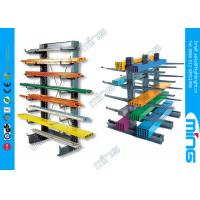 Wholesale Orange Double Sided Pallet Storage Racks Warehouse Tubular Cantilever from china suppliers