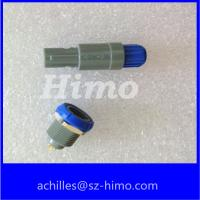 Buy cheap 6 pin push pull plastic connector for medical sanner device from wholesalers