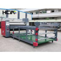 Quality 1.7m Simple Roller Textile / T Shirt Heat Transfer Machine 1 Year Guarantee for sale