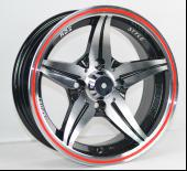 Wholesale Alloy Cars Silver Full Painted 13 Inch Wheels With Machine Cut Face from china suppliers