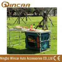 Wholesale Multi - Function Aluminum Folding Table With Cloth Cabinet Light Bar from china suppliers