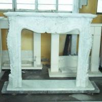 Quality White Fireplace / Marble Fireplace / Fireplace Mantel (LY-086) for sale