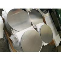 Wholesale Mill Finish 3000 Series Aluminum Round Plate , Strongest Commercial Grade Aluminum Disks from china suppliers