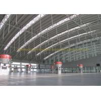 Wholesale Waterproof Project Houses Steel Roof Trusses , Prefab Roof Trusses from china suppliers