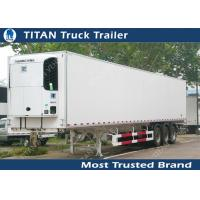 Wholesale Thermo King 20ft 40ft 53ft mobile refrigerated trailer truck / cooler trailer from china suppliers