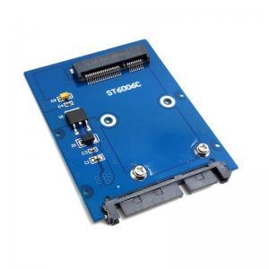 """Wholesale Slim Mini PCI-E mSATA SSD 2.5 """"SATA 3,0 PCBA 22 pin adaptateur disque dur HDD HG from china suppliers"""
