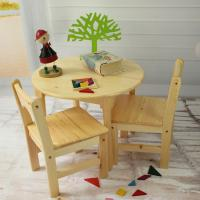 Wholesale Tiger School wooden furniture --round table with chairs , Montessori furniture from china suppliers