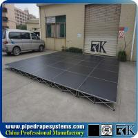 Wholesale Used mobile portable stage for sale ,build portable stage for concerts from china suppliers