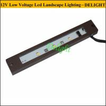 Wholesale 12V led Rail Stone Cap light Kichle LED Hardscape Light 12V LED Under Rail Light for landscape lighting from china suppliers