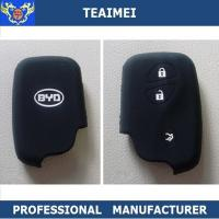 Wholesale BYD / Volkswagen Black Remote Silicone Car Key Cover Case Eco - Friendly from china suppliers
