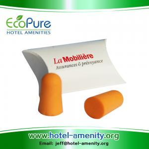 Wholesale CE EN 352-2 Bullet PU Foam Ear plugs,Pu foam Ear plugs,Earplugs,Foam ear plugs from china suppliers