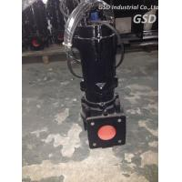 Wholesale TECO Motor Low Pressure Non Clog Sewage Pump , Single Stage Submersible Vortex Pump from china suppliers