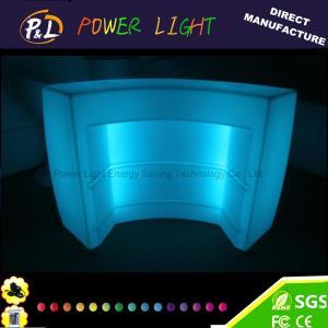 Quality Illuminated Palstic LED Round Bar Section for sale