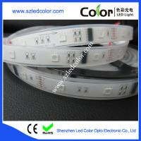 Wholesale IP67 waterproof dmx control dc12v 30led dmx led strip from china suppliers