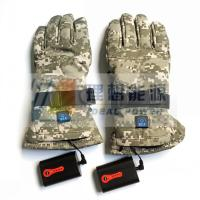 Wholesale Electric Far Infrared Winter Ski Heated Gloves Powered by 7.4v Battery Pack Rechargeable from china suppliers
