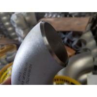 Wholesale Stainless steel butt welded pipe elbows from china suppliers