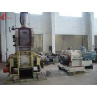 Quality Air pressure type 220kw 100L Falling Type Internal Mixer / Artificial Leather Plastic Banbury Mixer for sale