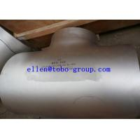 Wholesale ASTM A815 WPS32760 reducing tee ASME B16.9   A815 / A815M Standard from china suppliers