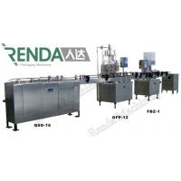 Wholesale Soda Water Electric Can Filling Machine , Gas Drink Bottling Equipment from china suppliers