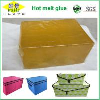 Wholesale Pressure Sensitive Hot Melt Adhesive Block For Fabric / Labeling / Paper Attaching from china suppliers