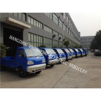 Wholesale Single Cab Electric Platform Truck 36V Battery Power 1000kg With Blue from china suppliers