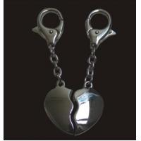 Wholesale kiss couple key chains from china suppliers
