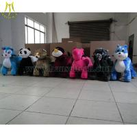 Wholesale Hansel High Quality Hot Selling electric animal pet zippy walking in china kiddie animal ride car from china suppliers