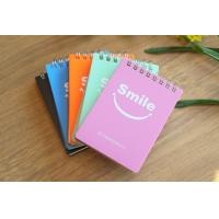Wholesale Colored printed custom notebook , spiral notebook , kraft leather cover paper notebook from china suppliers