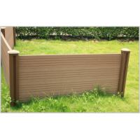 Wholesale Long Lasting beautiful design WPC fence/Free maintenance Easy clean from china suppliers