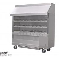 Wholesale Silvery White Stainless Steel Brazilian Charcoal Oven Burner Commercial Kitchen Equipments from china suppliers