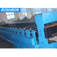 Wholesale Steel Roofing Tile Roll Forming Machine Hydraulic Cutting for Wave Tile from china suppliers