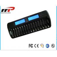 Wholesale 16 Slot AA AAA LCD Battery Charger NIMH NiCad Alkaline Batteries from china suppliers