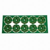 Wholesale Single Side PCB, Green Solder Mask and White Silkscreen Color from china suppliers