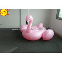 Wholesale Light Weight Inflatable Pink Flamingo , Inflatable Pool Toys For Swimming Pool from china suppliers